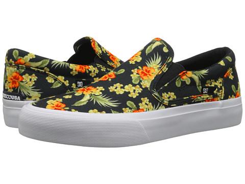 DC - Trase Slip-On SP (Black Graphic) Skate Shoes