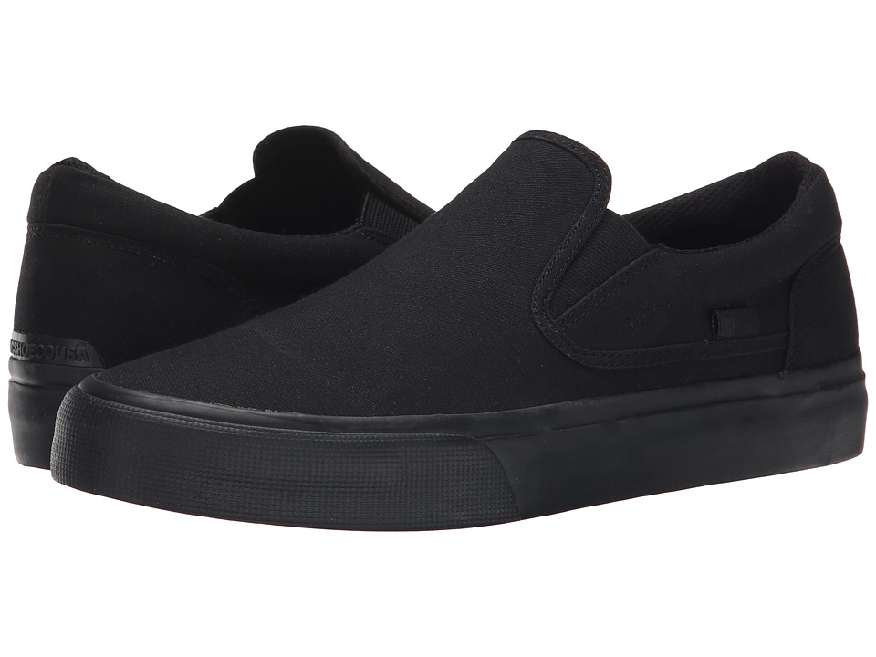 DC - Trase Slip-On TX (Black 3) Skate Shoes