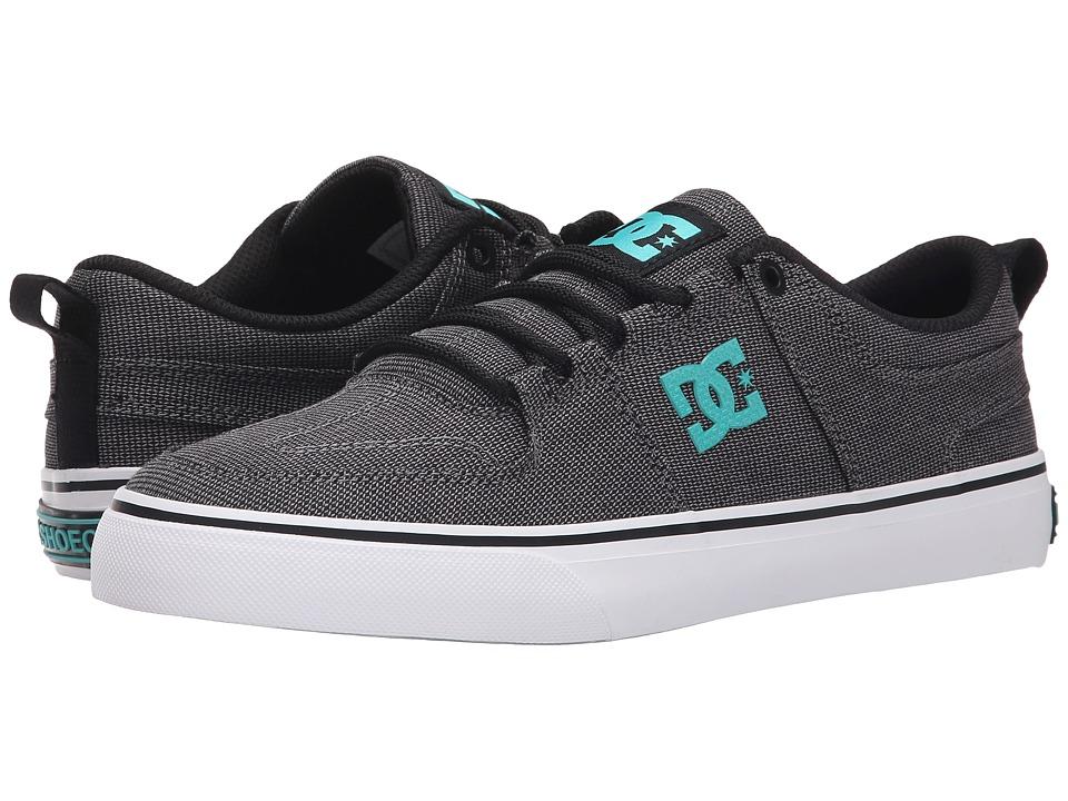 DC - Lynx Vulc TX SE (Black/Turquoise) Skate Shoes