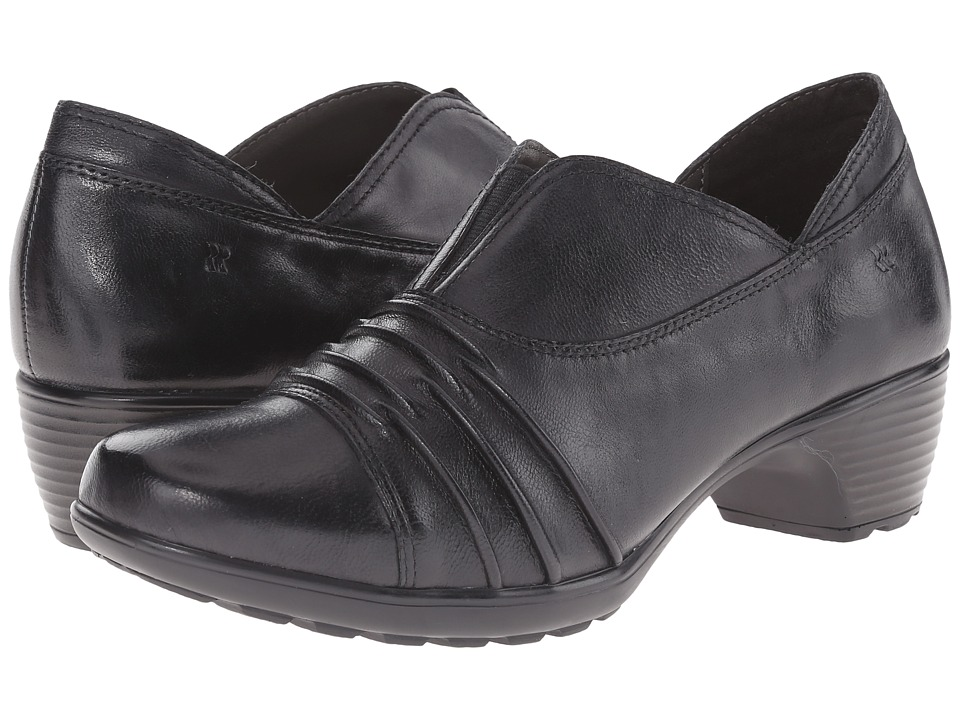 Romika - Banja 04 (Black Pitone) Women's Clog Shoes