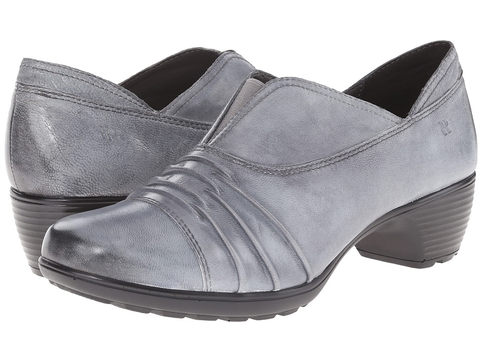 Romika - Banja 04 (Ash Pitone) Women's Clog Shoes