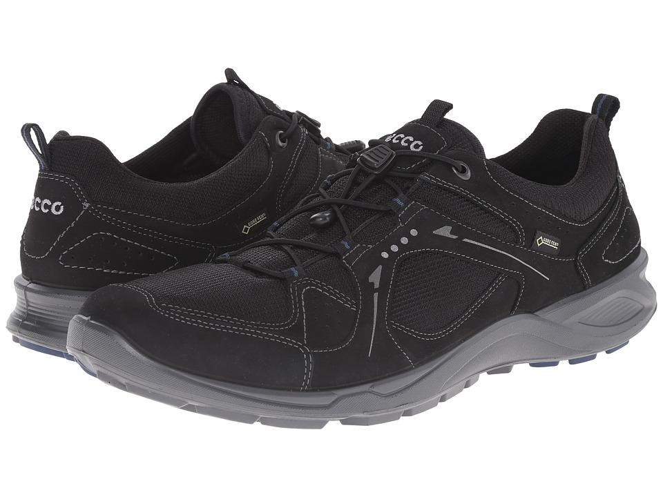 ECCO Sport - Terracruise GTX (Black/Black/Denim Blue) Men's Shoes