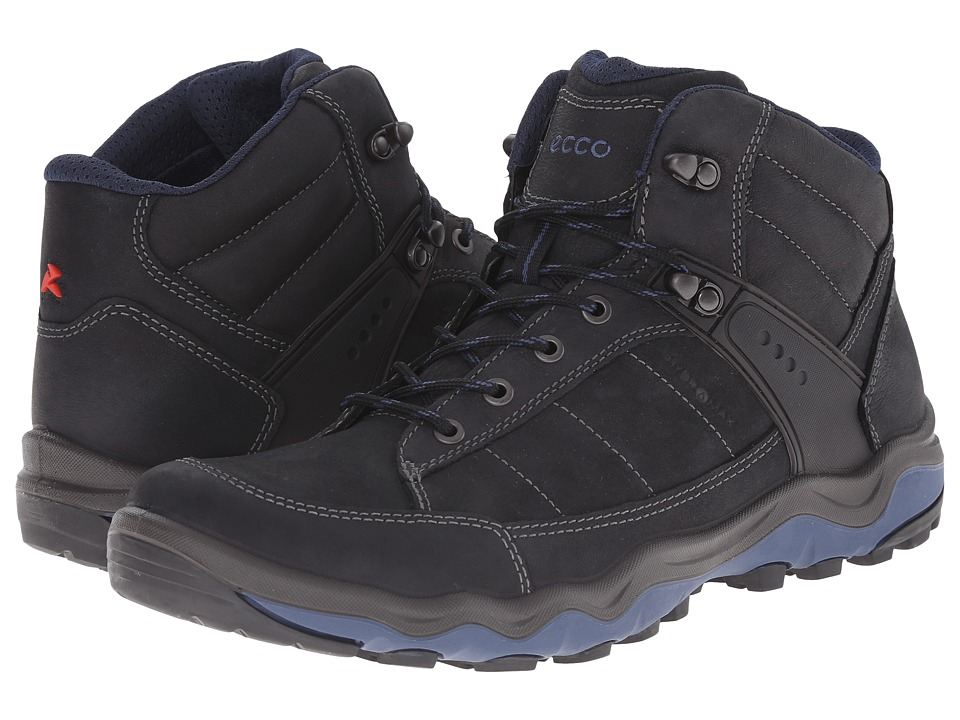 ECCO Sport Ulterra Dhaka Mid (Black/Denim Blue) Men