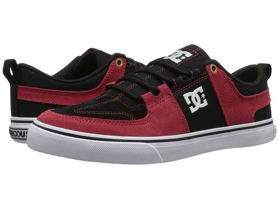DC - Lynx Vulc (Red/Black/White) Skate Shoes