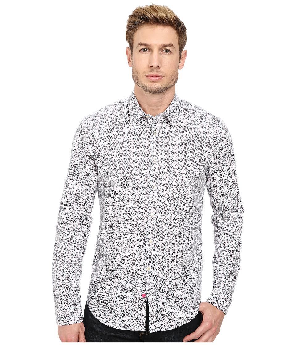 Moods of Norway - Alex Vik Shirt 151645 (Dark Red) Men's Long Sleeve Button Up