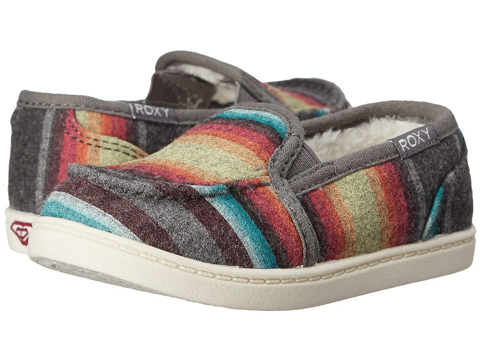 Roxy Kids - Lido Wool III (Toddler) (Multi) Girls Shoes