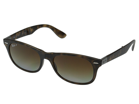 Ray-Ban - RB4223-Folding Lite Force Tech (Havana Polarized) Fashion Sunglasses