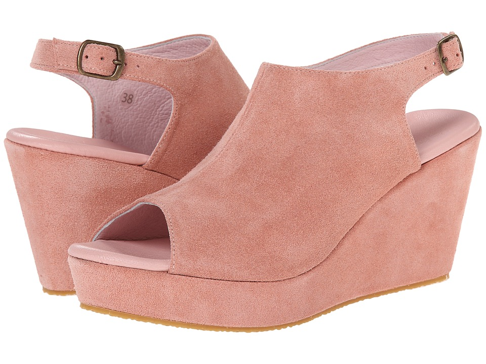 Cordani - Fellesley (Blush Suede) Women's Wedge Shoes