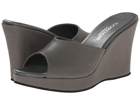 Cordani - Wish (Grey Soft Leather) Women's Wedge Shoes