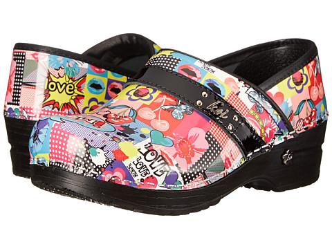 Sanita - Warhol Professional (Multi Printed Patent) Women's Shoes