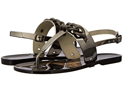 Elie Tahari - Chain (Pewter) Women's Sandals