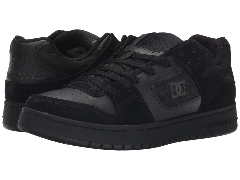 DC - Manteca (Black/Black/Black) Men's Shoes
