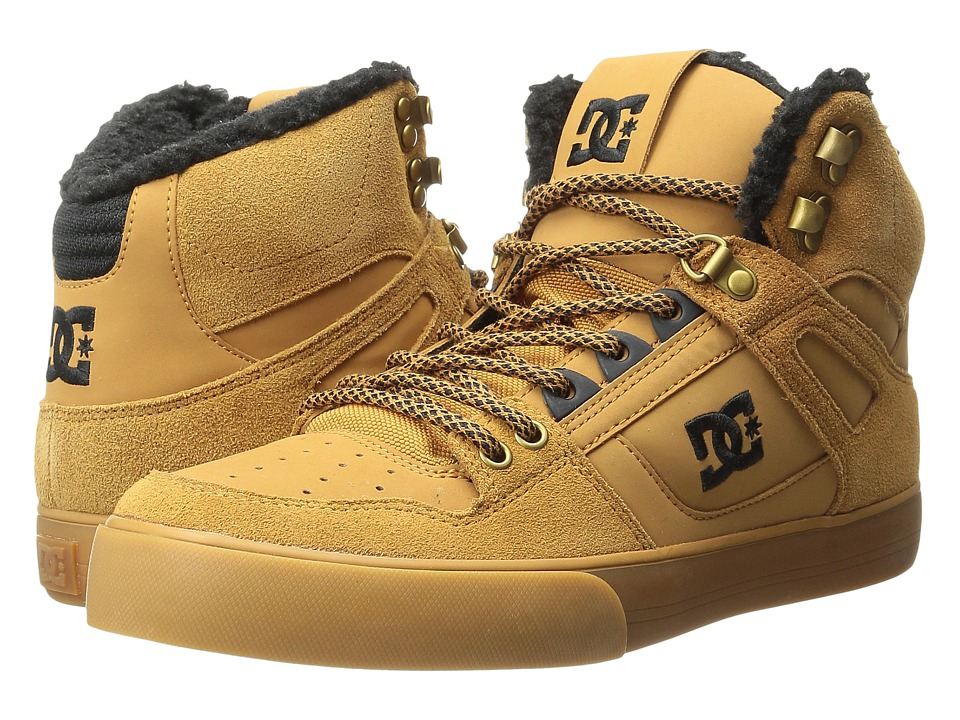 DC - Spartan High WC WNT (Wheat/Turkish Coffee) Men's Shoes