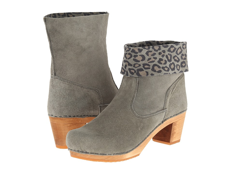 Sanita - Sardia Square Boot (Grey Suede) Women