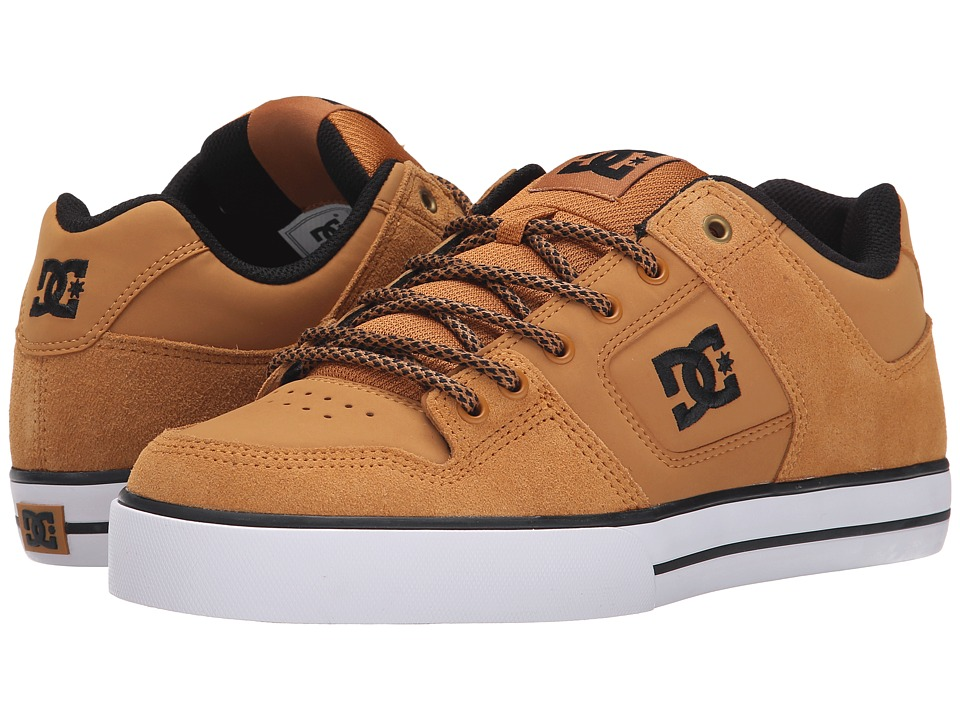 DC - Pure (Wheat) Men's Skate Shoes