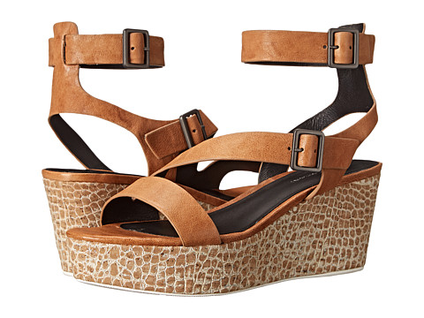 Elie Tahari - Mustique (Crema) Women's Wedge Shoes