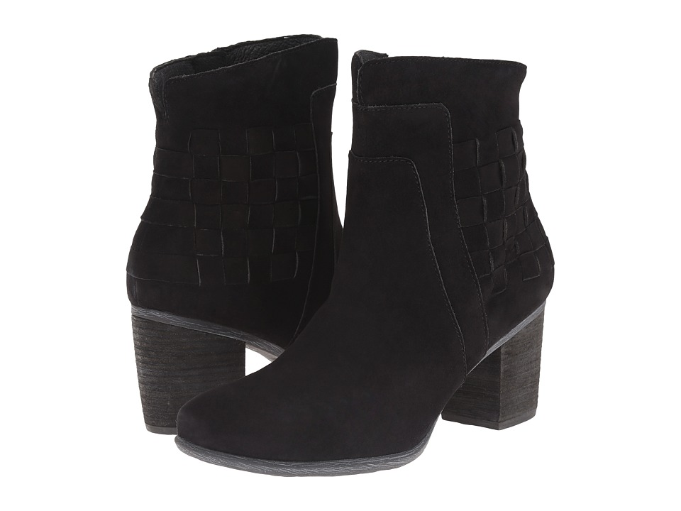 Josef Seibel - Britney 27 (Black Kid Suede) Women's Dress Boots