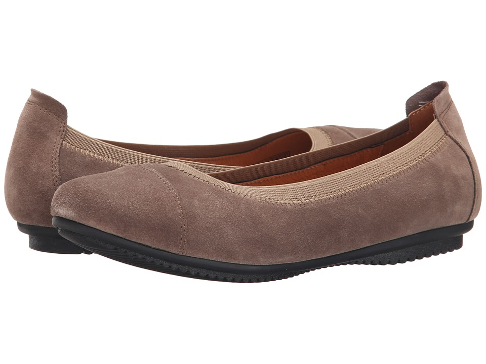 Josef Seibel Pippa 07 Taupe Velour Womens Shoes