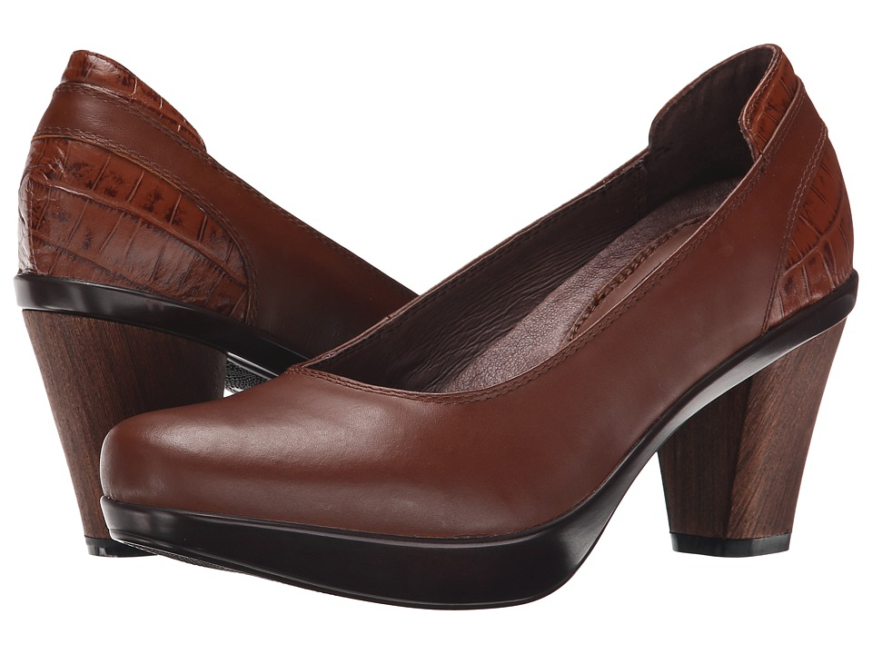 Sanita Bethany (Brown Polished Leather) Women