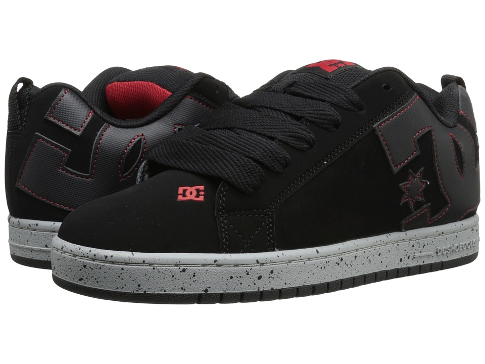 DC - Court Graffik (Black Multi) Men's Skate Shoes