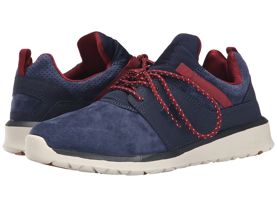 DC - Heathrow LE (Navy/Red) Skate Shoes