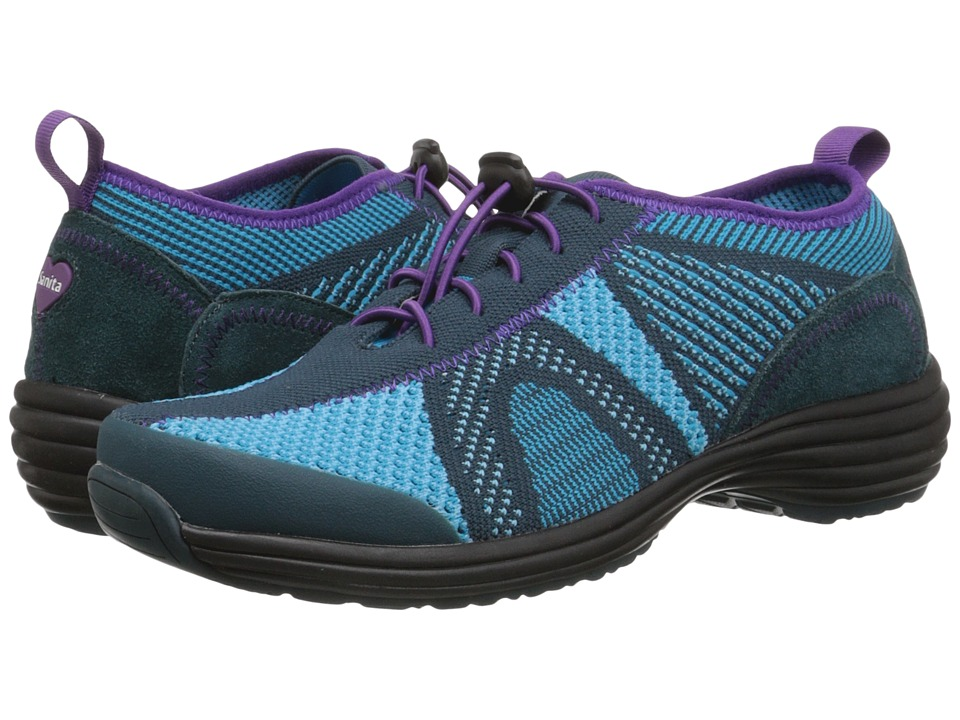 Sanita - Tranquility Lite (Turquoise/Green Knit) Women's Shoes