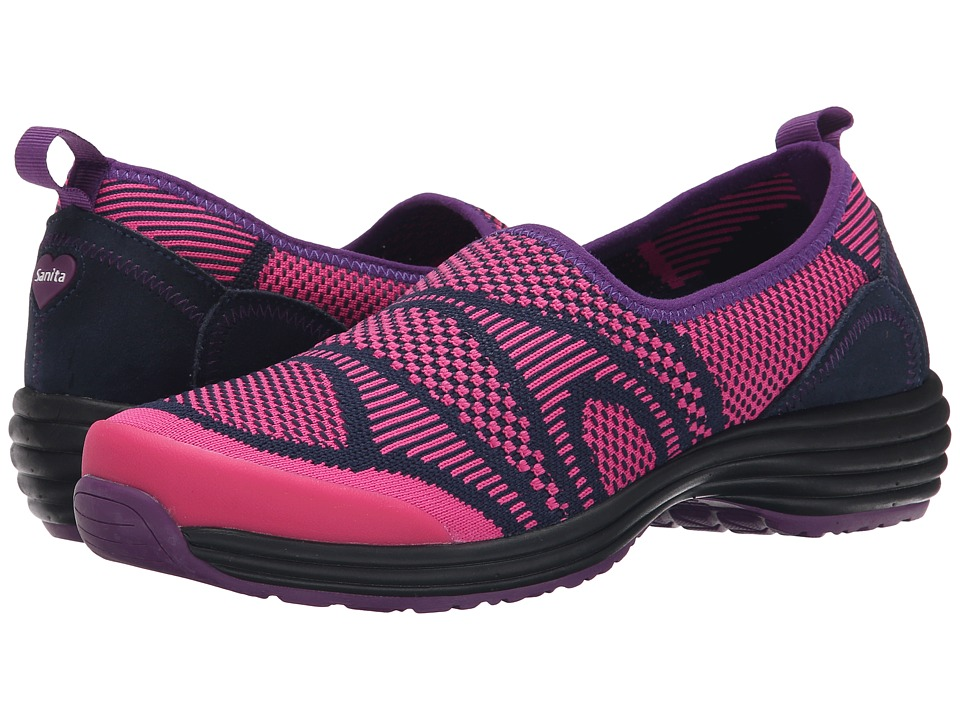 Sanita - Grace Lite (Pink/Purple Knit) Women's Shoes