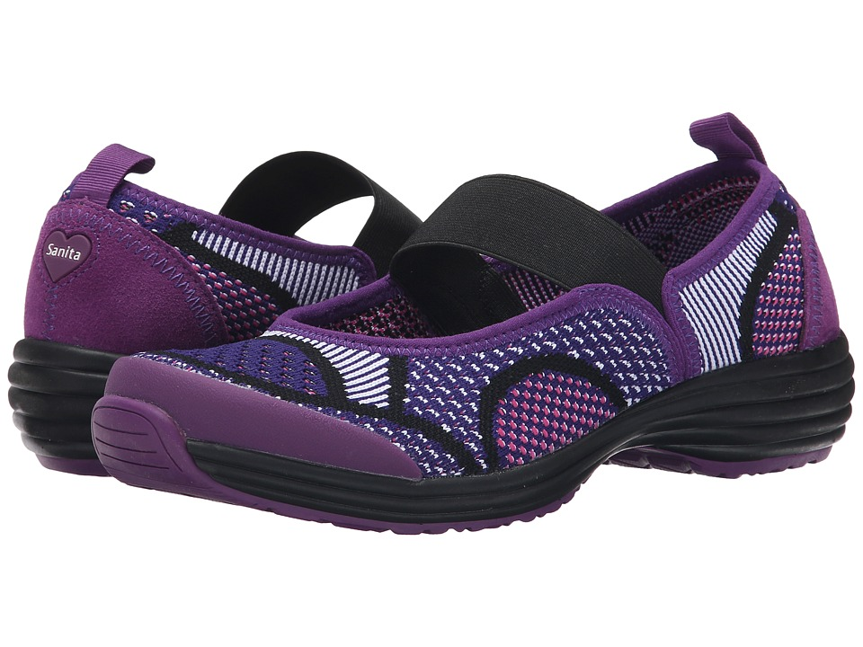 Sanita - Serenity Lite (Pink/Purple Knit) Women's Shoes