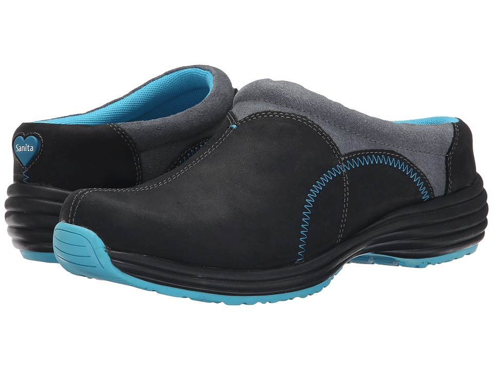Sanita - Delight Luxe (Black Nubuck) Women's Shoes