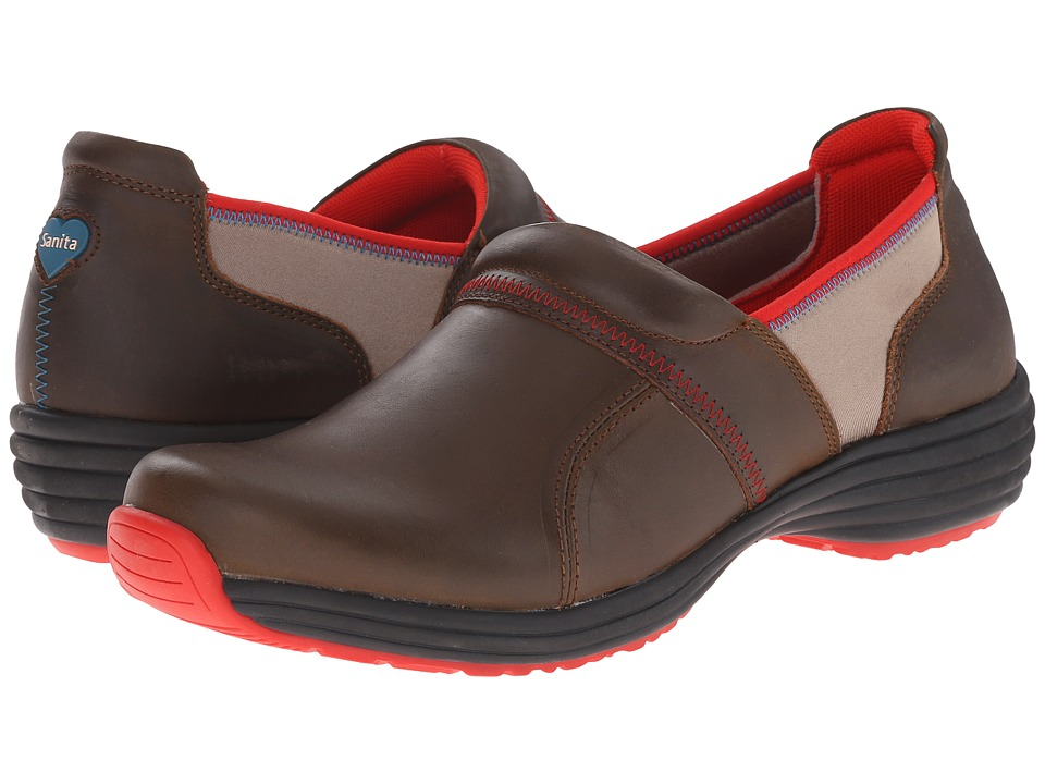 Sanita - Elite Luxe (Brown Nubuck) Women's Shoes