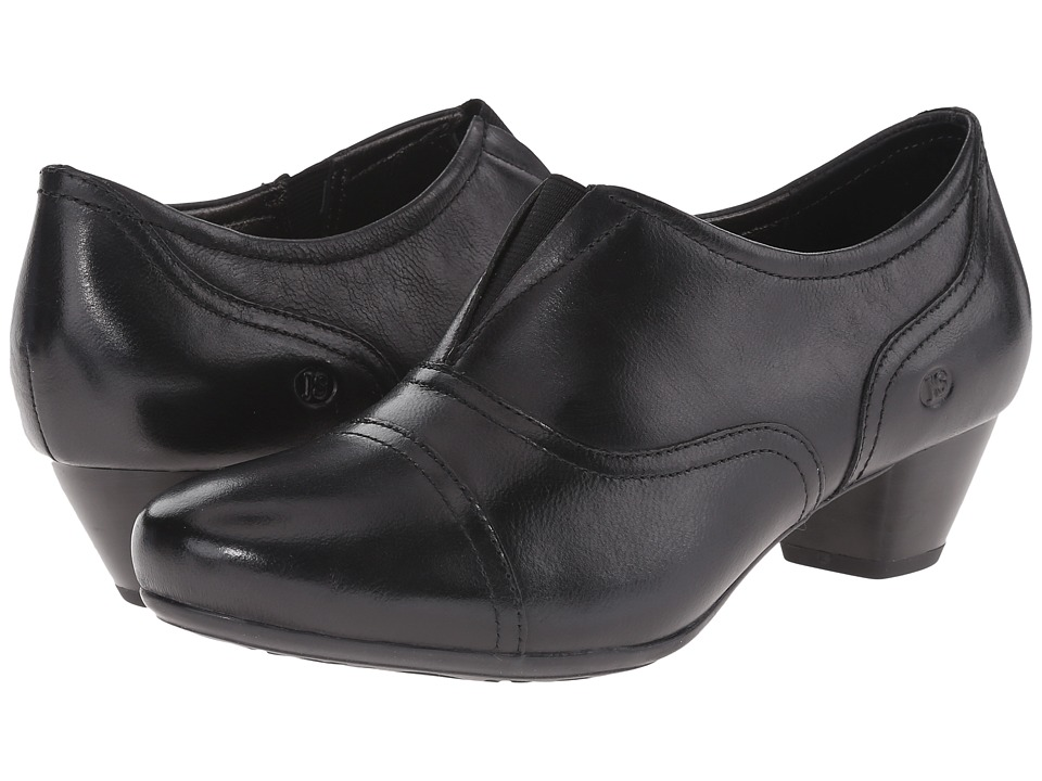 Josef Seibel - Amy 35 (Black Pitone) Women's 1-2 inch heel Shoes