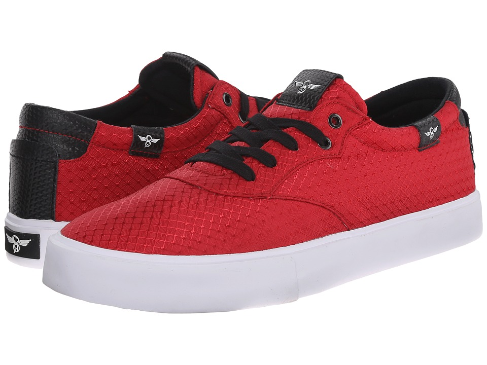 Creative Recreation - Prio (Red Black) Men's Lace up casual Shoes