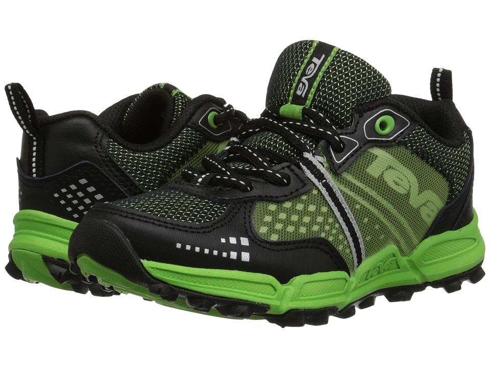 Teva Kids - Escapade Low (Little Kid/Big Kid) (Black/Green) Boys Shoes