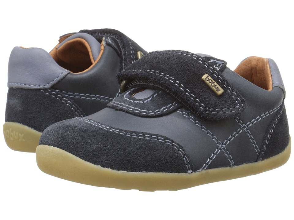 Bobux Kids - Step Up Vintage Voyager (Infant/Toddler) (Navy) Boy's Shoes
