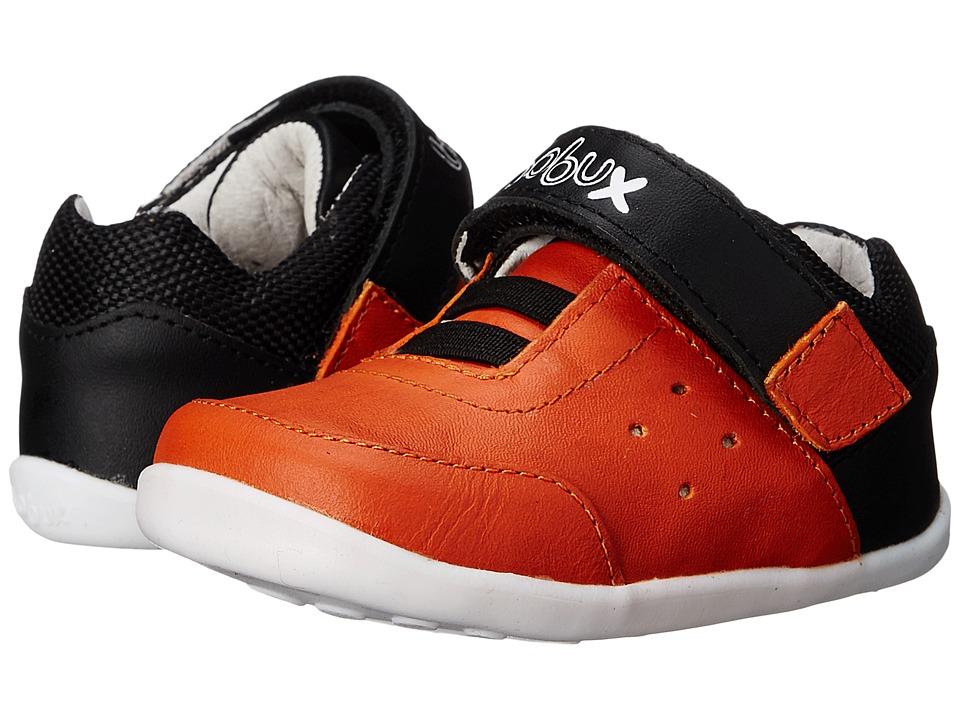 Bobux Kids - Step Up Micro (Infant/Toddler) (Orange) Boys Shoes