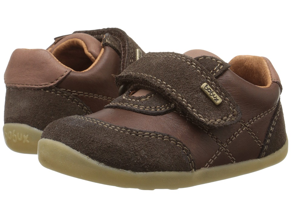 Bobux Kids - Step Up Vintage Voyager (Infant/Toddler) (Chocolate) Boy's Shoes
