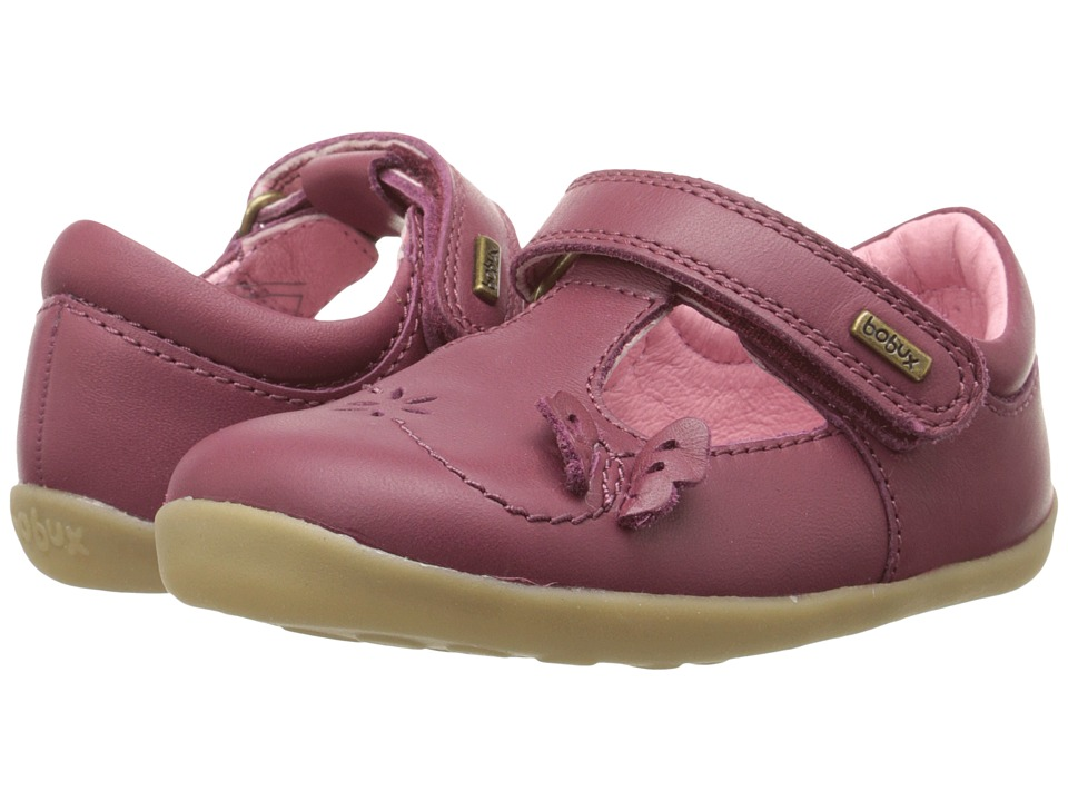 Bobux Kids - Step Up Flutter T-Bar (Infant/Toddler) (Pink) Girl's Shoes