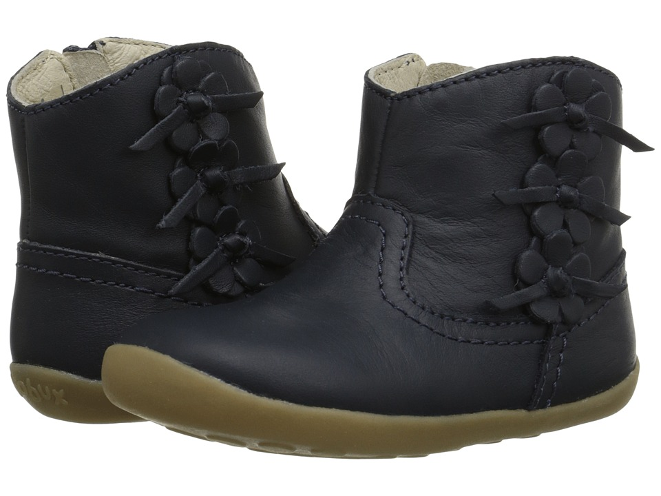 Bobux Kids - Step Up Mayflower Boot (Infant/Toddler) (Navy) Girls Shoes
