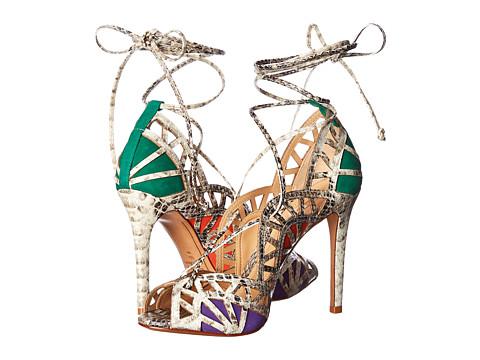 Schutz - Dubianna (Pearl/Rosema/Spicy Orange/Purple Cherry Summer Snake/Nobuck) High Heels