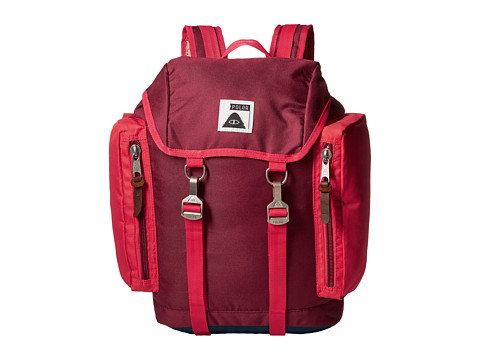 Poler - Rucksack Backpack (Sweet Berry Wine/Steel Blue/Cayenne) Backpack Bags