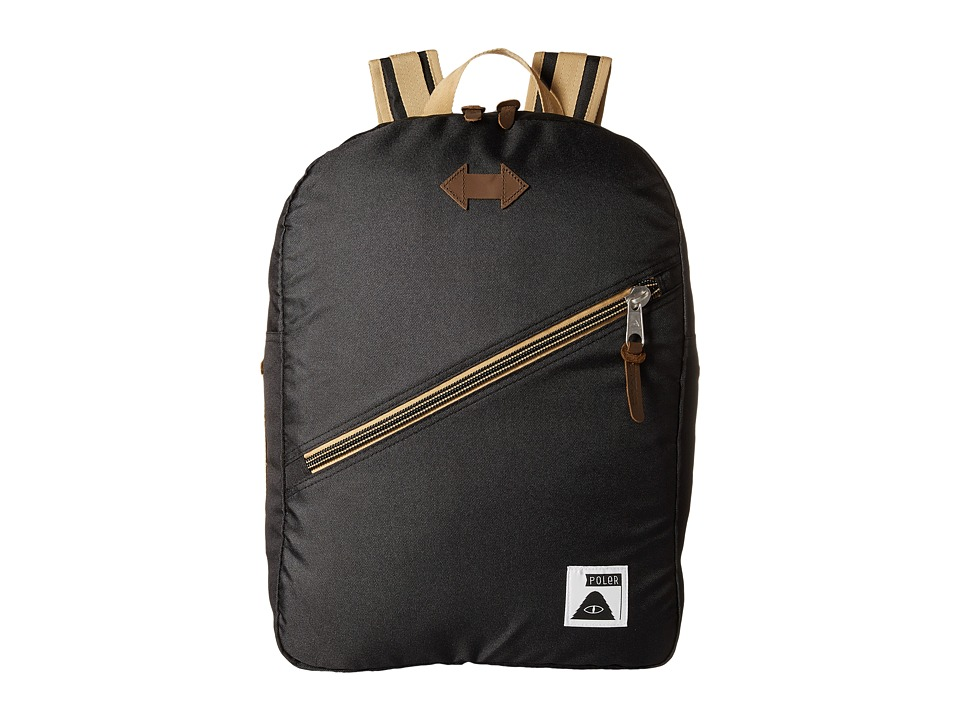 Poler - Drifter Backpack (Black) Backpack Bags