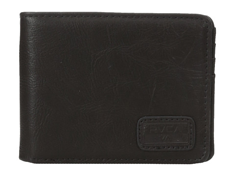 RVCA - Dispatch Wallet (Brown) Wallet Handbags