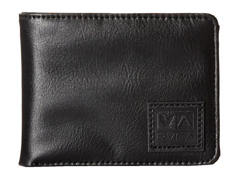 RVCA - Wells Bifold Wallet (Black) Bi-fold Wallet
