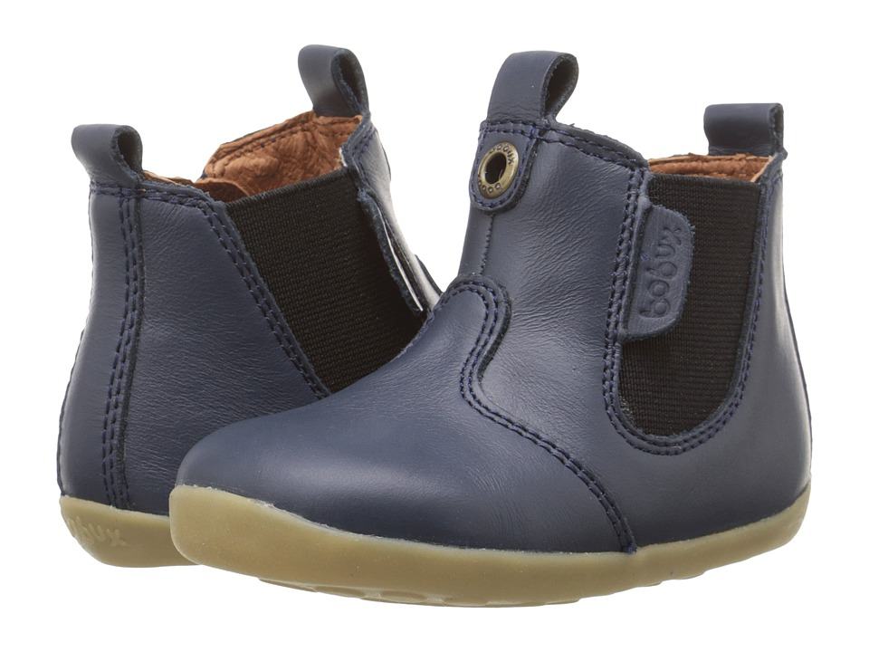 Bobux Kids - Step Up Jodphur Boot (Infant/Toddler) (Navy) Kids Shoes