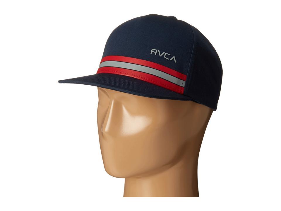 RVCA - Barlow Twill Snapback (Navy) Baseball Caps