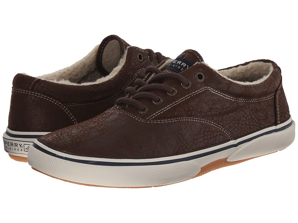 Sperry Top-Sider Halyard LL CVO Distressed (Brown) Men