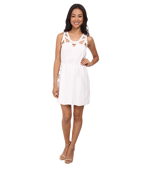 Olive & Oak - Cutout Strap Dress (White) Women