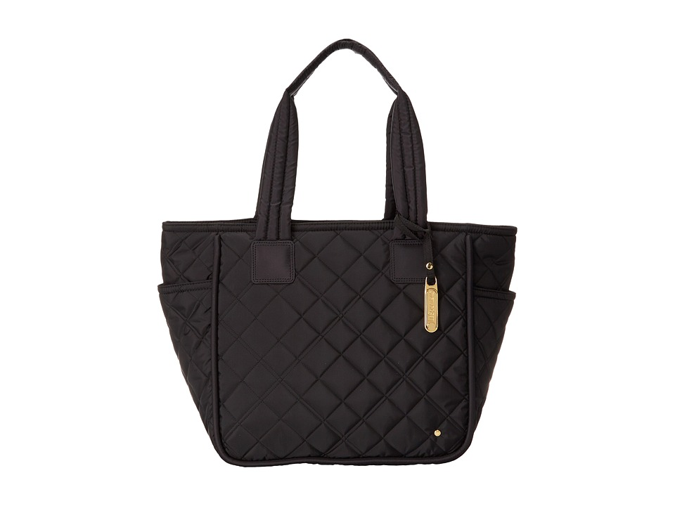 LeSportsac - Signature Claudia Tote (Phantom Black Quilted) Tote Handbags