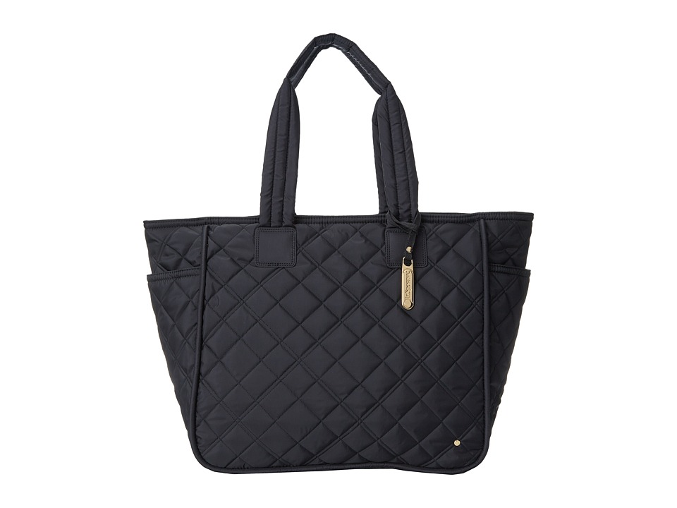 LeSportsac - Signature Large Claudia Tote (Phantom Black Quilted) Tote Handbags