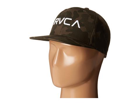 RVCA - Twill Snapback (Camo) Baseball Caps